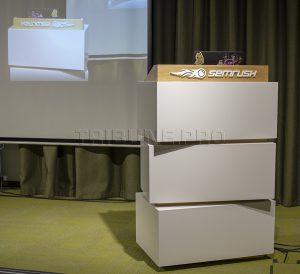 Дизайнерская трибуна в конференц зале